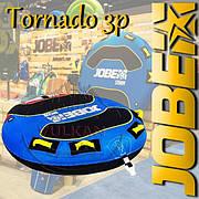 Надувная трехместная плюшка JOBE Tornado Towable 3P