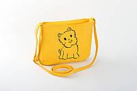 Маленькая женская сумка «Собачка»