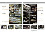 Кронштейн полкотримач 220мм для монтажу полиці ДСП або скла в гардеробній системі зберігання Україна, фото 7