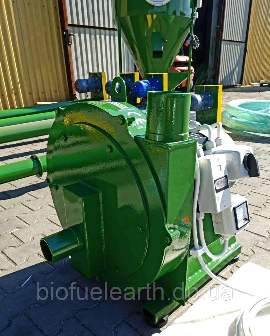Зернодробарка молоткова, 1500 кг/год