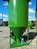 Змішувач кормів, змішувач сипучих матеріалів, ємність 3430 літрів, фото 4