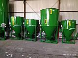 Змішувач кормів, змішувач сипучих матеріалів, ємність 3430 літрів, фото 9