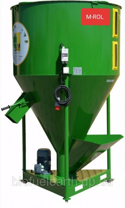 Кормозмішувач, ємкітю 3430 літрів, 2000 кг