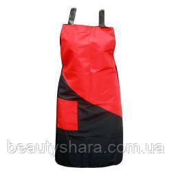 Фартук MILANO (бордовый, черный)