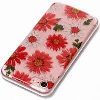 Накладка силикон Summer Flower for Apple iPhone 6/6S Plus (clear)