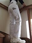 Комплект спецодежды жилет и брюки белые ПЭ+ХБ Wurth, фото 2