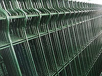 Заборная секция СТАНДАРТ цинк+ППЛ. Высота 1.2 м, длина 2,5м.
