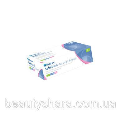 Перчатки Medicom нитриловые  Extend (M) розовые