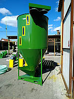 Кормосмеситель, сыпучих компонентов, 1200 кг, фото 1