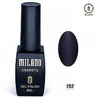 Гель-лак Milano 8 мл. №192 (синий)