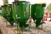 Кормосмеситель сыпучих кормов, 1200кг, фото 1