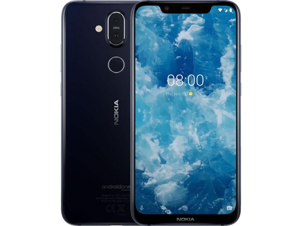 Смартфон Nokia 8.1 4/64GB Blue Silver