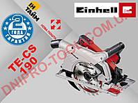 Пила дисковая электрическая Einhell TE-CS 190 (Циркулярная циркулярка паркетка) (4330970)