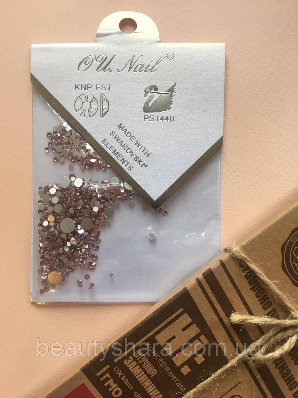 Стразы для ногтей Swarovski (розовые)