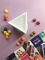 Поддон для страз и декора в форме треугольника для дизайна