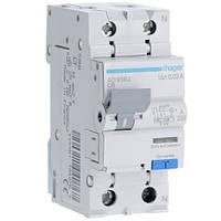 Дифференциальный автоматический выключатель 6A 30 mA тип A AD956J Hager