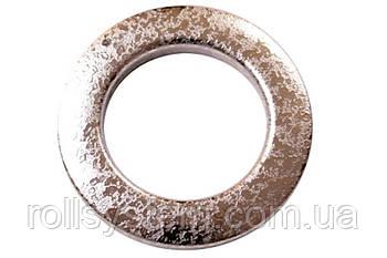 Люверсы для штор Мокрое серебро