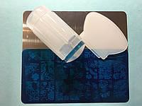 Набор для стемпинга + Пластина