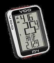 Велокомпьютер  VDO - M4 Чёрный/Белый
