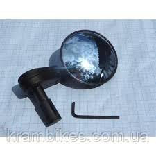 Зеркало универс Spelli - SBM-4065 на руль Чёрный