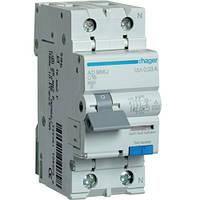 Дифференциальный автоматический выключатель 16A 30 mA тип A AD966J Hager