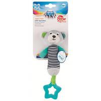 Canpol babies іграшка плюшева з пищалкою та зубогризкою BEARS 0+