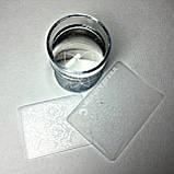 Набор для стемпинга  (серебристый, золотой), фото 2