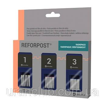 Стекловолоконные штифты параллельно-конические REFORPOST  (реферпост)