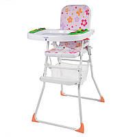 Детский стульчик для кормления складной BAMBI (M 0405)