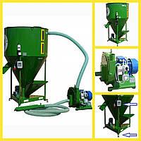 Комбікормовий міні завод, кормовиробництво, 500 кг/год