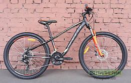 """Велосипед 26"""" Spelli SX-3200  черно-оранжевый 2019 13"""" (рост 140-155 см)"""