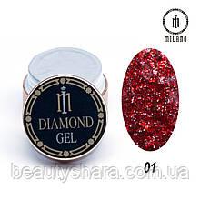 Diamond Gel8g №001