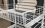 Кронштейн полкодержатели 406мм для монтажа сетчатой полки или корзины в гардеробной системе хранения Украине, фото 5