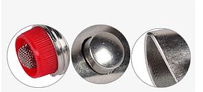 Ниппельная поилка кнопочная для свиней 78мм, фото 2