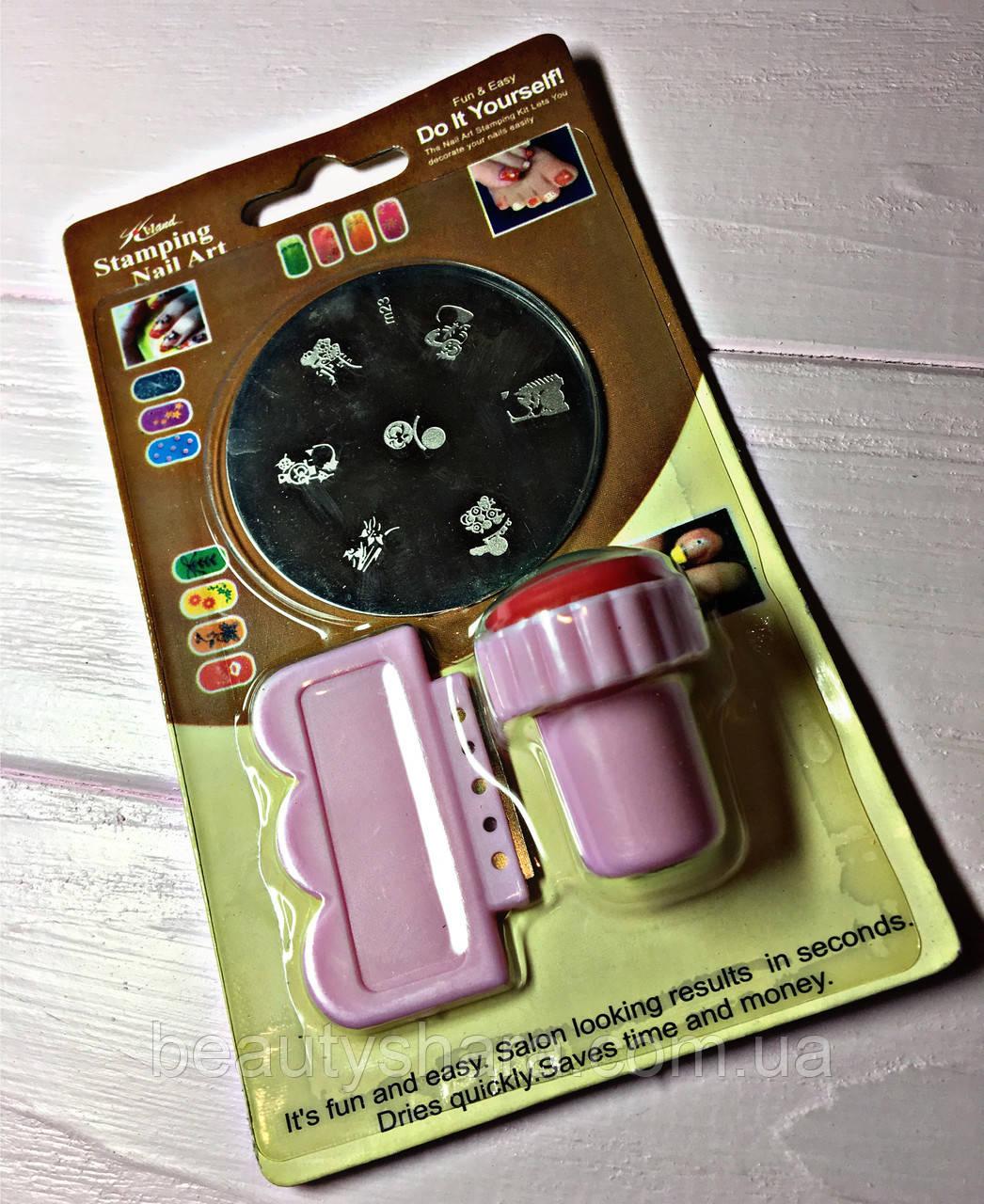 Набор стемпинга для ногтей Mini