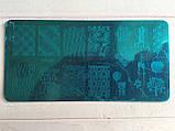 Пластина для стемпинга (металлическая) XY-Z20, фото 2