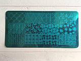 Пластина для стемпинга (металлическая) XY-J27, фото 2