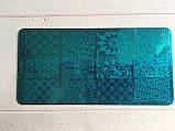 Пластина для стемпинга (металлическая) XY-J27, фото 5