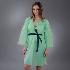 Халат-кимоно с поясом из спанбонда Doily 1шт. (Цвета в ассортименте)