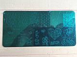 Пластина для стемпинга (металлическая) XY-J24, фото 3