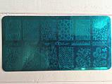 Пластина для стемпинга (металлическая) XY-Z08, фото 4