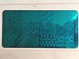 Пластина для стемпинга (металлическая) XY-Z08, фото 6