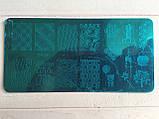 Пластина для стемпинга (металлическая) XY-Z08, фото 9