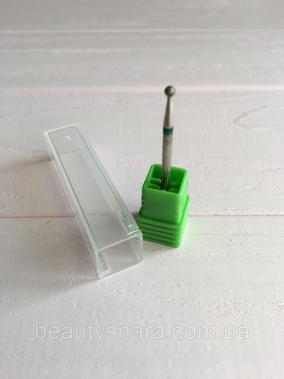 Алмазная насадка для фрезера кукуруза Flyme (зеленая)
