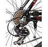 """Crosser Life New 26"""" Велосипед 2-х кол. красно-черный противоударные обода алюминиевая рама, фото 3"""