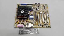Материнская плата Asus K8V-X Socket 754 с памятью и процессором