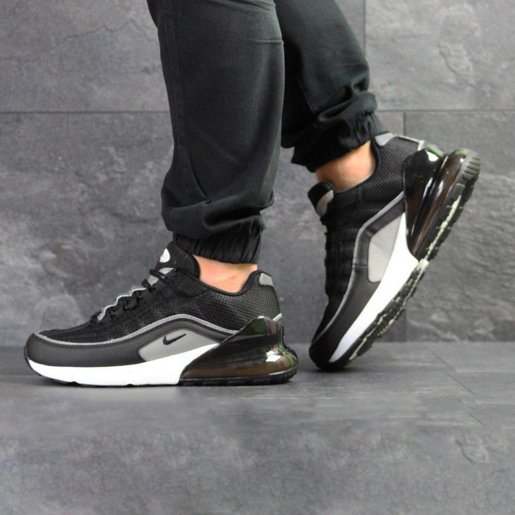 ea3100384af8b Мужские кроссовки в стиле Nike Air Max 95 + Max 270 черно белые ...