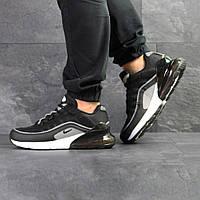 Мужские кроссовки в стиле Nike Air Max 95 + Max 270 черно белые
