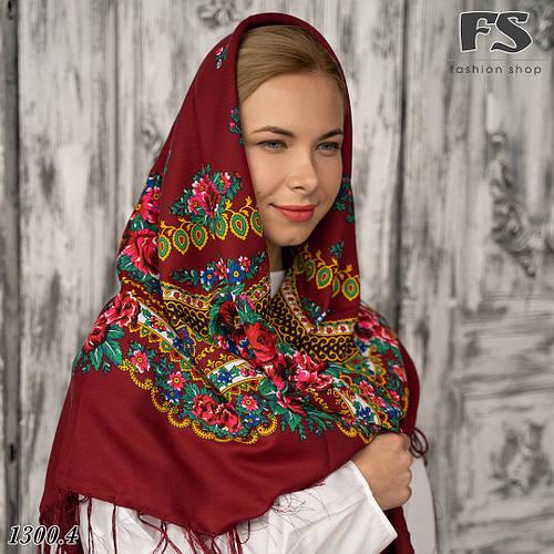 223e121d6080 Українська народна шерстяна хустина Квіти України!