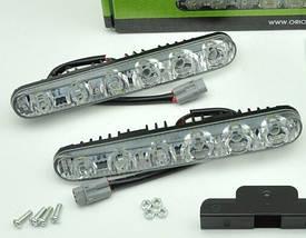 Дневные ходовые огни DRL-HP-L6 на 6 светодиодов ДХО, фото 2